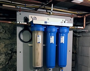 home-water-filtration-installation