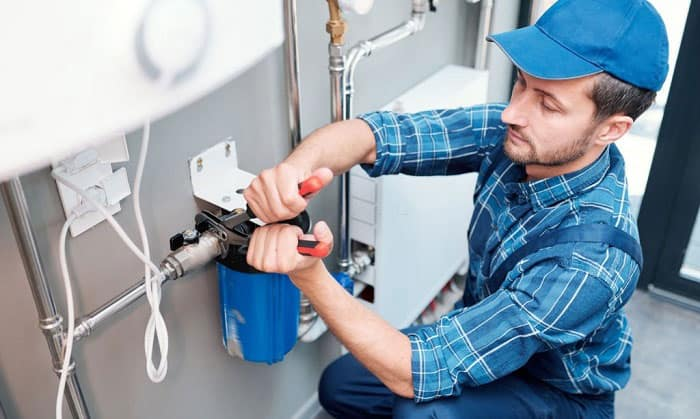reverse osmosis water filtration system installation
